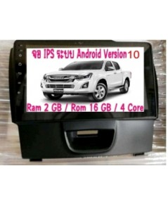 Alpha coustic ตรงรุ่นรถ All New ISUZU D-MAX Android 9 (Android 10 )
