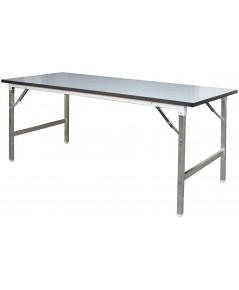 โต๊ะขาพับ อเนกประสงค์ TF - 45180 ขนาด 45 x 183 x 74 ซม.