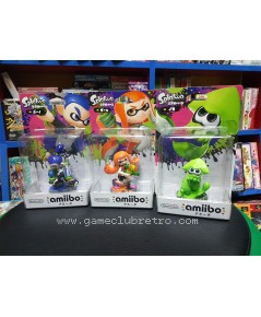 Amiibo Splatoon Set Wave 1  มือ 1