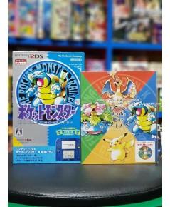 Nintendo 2DS Pokemon Blue Pokemon Center Limited