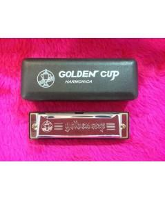 เมาท์ออร์แกน Golden cup  Folk