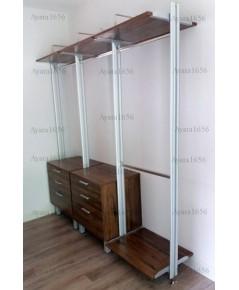 Walk In Closet - I Shape สี Loft Golden Oak