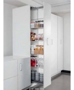 ตะแกรง สแตนเลส ตู้สูง หน้าบานดึง 30, 40 ซม. (HTP-300-400)
