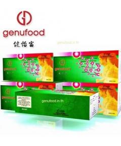 เอนไซม์เจนิฟู้ด Genufood เอนไซม์บำบัด เจนิฟู้ด 1กล่องขนาด60 ซอง  แถมเพิ่ม 10 ซอง 3600 บาท