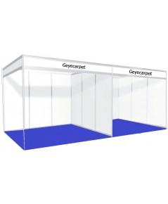 พรมอัดเรียบ จัดบูธ ขนาด 3x2 เมตร (6 ตรม.) GC05 สีน้ำเงิน ปูได้เลย