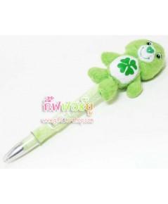 ปากกาตุ๊กตา care bears สีเขียว