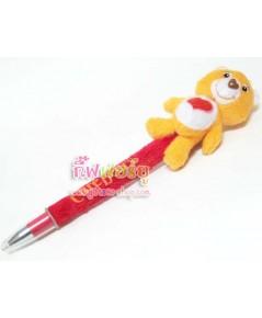 ปากกาตุ๊กตา care bears สีส้ม