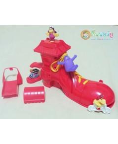 ของเล่น McDonald 2000 ชุด Ronald\'s Shoe (ครบเช็ต)