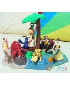 ของเล่น ชุดทาร์ซาน จาก McDonald 1999 (ครบเช็ต)