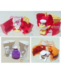 ของเล่น McDonald 1999 ชุด Mc Chef (ครบเช็ต)