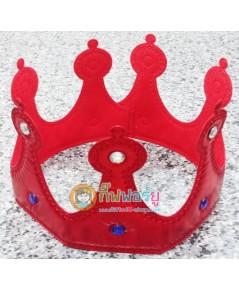 มงกุฎเจ้าชาย (ผ้าสีแดง) ราคา/1 อัน