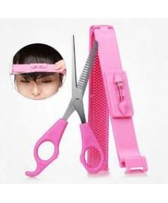 ชุดกรรไกรตัดผมพร้อมอุปกรณ์วัดระดับ Magic Hair Clip