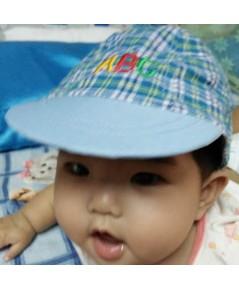 หมวกเด็ก ABC (สีฟ้า)