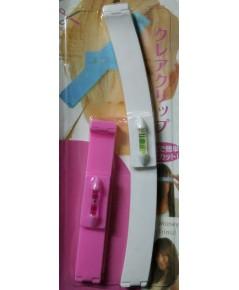 อุปกรณ์วัดระดับการตัดผม Magic Hair Clip (สีชมพู)