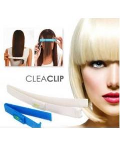 อุปกรณ์วัดระดับการตัดผม Magic Hair Clip (สีน้ำเงิน)