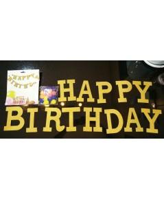 ป้ายแขวนผนัง Happy Birthday