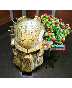 1 อัน สีบรอนซ์ทอง หน้ากากพรีเดเตอร์ หน้ากากแฟนซี หน้ากากฮาโลวีน Predators Mask Halloween