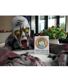 1 ตัว ผีกระดึ๊บ หุ่นผี ผีปลอม หุ่นโครงกระดูก ของตกแต่งฮาโลวีน Ghost Halloween Decorate