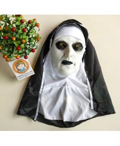 1 อัน หน้ากากแม่ชี หน้ากากผี หน้ากากฮาโลวีน ปาร์ตี้ แฟนซี the nun mask halloween