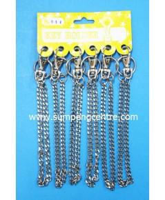 พวงกุญแจก้ามปู มีโซ่ no:041
