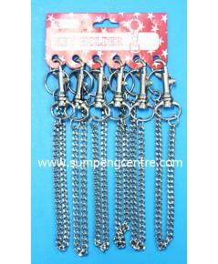 พวงกุญแจก้ามปู มีโซ่ no:043