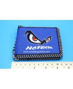 กระเป๋าตังค์No Fear 2 พับมีโซ่ - ใหญ่ no:6691/1 คละสี