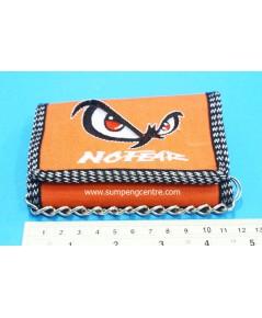 กระเป๋าตังค์No Fear 3 พับมีโซ่ - ใหญ่ no:6602 คละสี