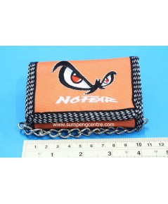 กระเป๋าตังค์No Fear 3 พับมีโซ่ - เล็ก no:6638/1 คละสี