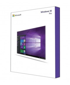 SOFTWARE MS-WINDOWS 10 PRO 32/64 BIT ENG (FPP)