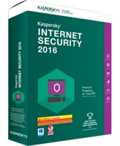 SOFTWARE KASPERSKY INTERNET SECURITY 2016 (1 USER)
