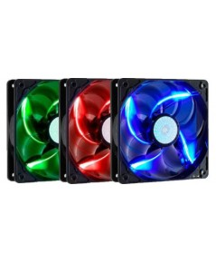 417.FAN CASE SICKLE FLOW X 120MM COOLER MASTER ( RED / BLUE / GREEN )