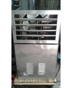 ตัวอย่างเครื่องผลิตน้ำแข็งเกล็ด (มือสอง) บิ้วใหม่ทั้งเครื่อง