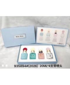 Miu Miu Miniature Collection - Eau de Parfum 7.5ml x 4 Gift Set กล่องของขวัญ แพคสวยภาพสินค้าจริงค่ะ
