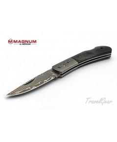 มีดพับดามากัส Boker Magnum Black Bone Damascus 01MB551DAM