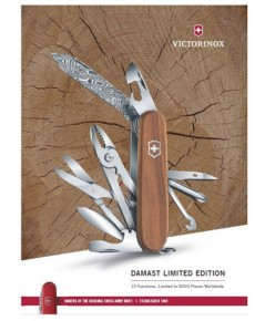 มีดพับ Victorinox รุ่น Deluxe Tinker Damast Limited Edition 2018