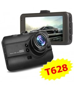 (T628) กล้องติดรถยนต์ WDR และ Parking Monitor (โหมดยามเผ้ารถ) หน้าจอใหญ่ 3.0นิ้ว