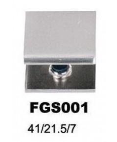 FGS 001 ตัวรับชั้นกระจก