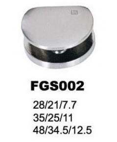 FGS 002 ตัวรับชั้นกระจก