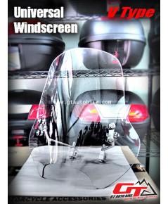 Universal Windshield  (V Type) สำหรับรถทุกชนิด