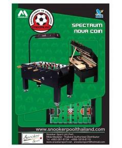โต๊ะโกว์นำเข้าสเปคตัม โนวา (Spectrum Nova) แบบหยอดเหรียญ และไม่หยอดเหรียญ