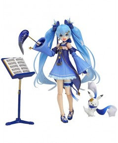 Max Factory : Vocaloid 2 : Figma EX-037 Snow Miku Twinkle Snow Ver. (PVC) GSC EXCLUSIVE
