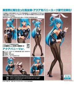 Freeing : Kono Subarashii Sekai ni Shukufuku o! 2 : Aqua: Bunny Ver. (1/4 PVC Figure)