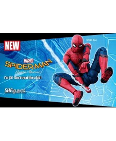 Bandai : Marvel Universe S.H Spider-Man: Homecoming (PVC,ABS Figure)