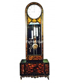 นาฬิกาเจ้าคุณปู่ ฝังมุกแบบจีน