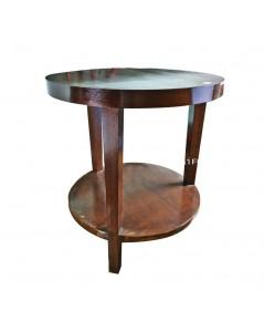 โต๊ะกลมไม้ Bonka 52*52*55 ซม.