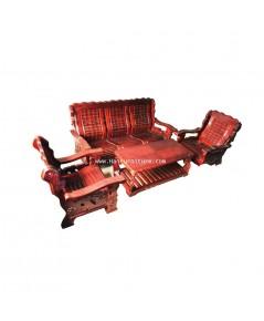 ชุดโซฟาจีนไม้ 4 ชิ้น