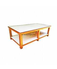 โต๊ะตัดผ้า ไม้เนื้อขนาดใหญ่ 252*128*80 ซม.
