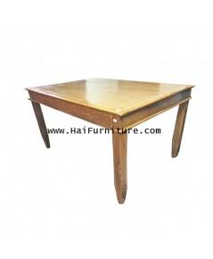 โต๊ะอาหารไม้สัก ปี 1960  122*91*69 ซม.