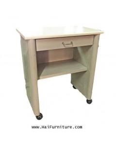 โต๊ะทำงานเหล็ก หน้าเมลามีน 65*40*74 ซม.