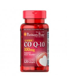 Puritan\'s Pride Coenzyme Q10 เข้มข้น 1000 มก. ขนาด 120 เม็ด (สำหรับคนไม่อยากแก่)